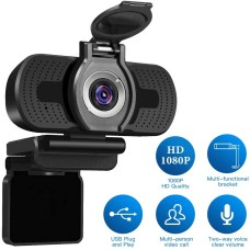 CAMARA VIDEO CONF.  LARMTECK WEBCAM HD1080P