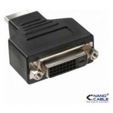 ADAPTADOR  DVI-D(H) A HDMI(M) NANOCABLE