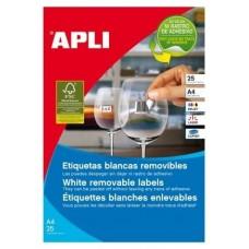 ETIQUETAS APLI A4 45X8MM