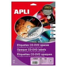 ETIQUETAS APLI CD 117 X 18 MM
