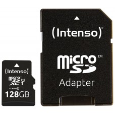 Intenso 3423491 Micro SD UHS-I Premium 128G c/adap