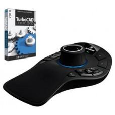 3Dconnexion SpaceMouse Pro Wireless ratón RF inalámbrico 6DoF