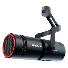 AVerMedia AM330 (XLR MIC) micrófono Negro Micrófono para PC