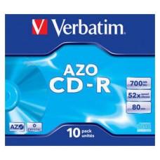 CD VERBATIM SUPERAZO 700MB 10U