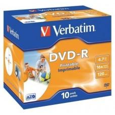 DVD-R VERBATIM 4.7GB 10U IMP