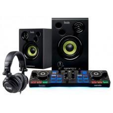 Hercules DJStarter Kit controlador dj Negro