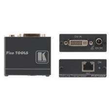 KRAMER TRANSMISOR DVI SOBRE PAR TRENZADO DGKAT™. MAX. TASA DE DATOS - 4.95GBPS (1.65GBPS POR CANAL GRAFICO) (PT-571HDCP)