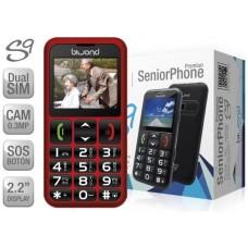 Biwond S9 Dual SIM SeniorPhone Rojo