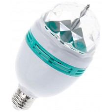 Bombilla LED E27 3W - Luces Giratorias