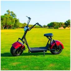 Citycoco (1) 1400W/12Ah Rojo/Negro Moto Eléctrica Last Mille (III)