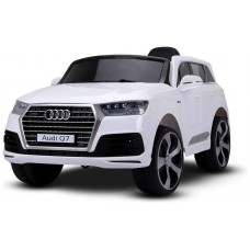 Coche Infantil Eléctrico Audi Q7 Blanco - REACONDICIONADO