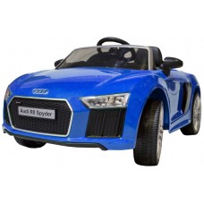 Coche Infantil Eléctrico Audi R8 Spyder Azul