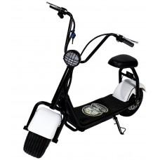 CityCoco Mini 1000W/48V/16AH/Litio Blanco Gran-Scooter
