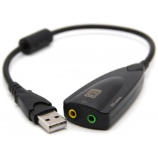Adaptador Externo Tarjeta Sonido USB 5HV2