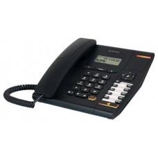 Alcatel Temporis 580 Teléfono DECT/analógico Identificador de llamadas Negro