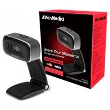 AVerMedia PW310 cámara web 2 MP USB 2.0 Negro