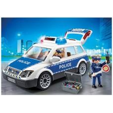 Playmobil policia coche policia con luces