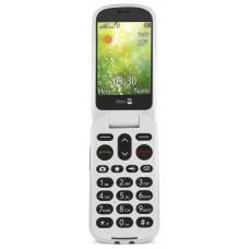 """Doro 6050 2.8"""" 111g Champán, Blanco Teléfono básico"""