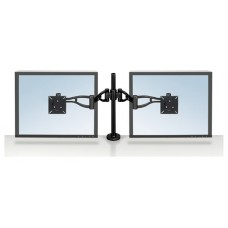 BRAZO FLEXIBLE DOBLE PARA MONITOR FELLOWES 8041701