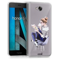 Carcasa COOL para Huawei Honor 6A Clear Girl