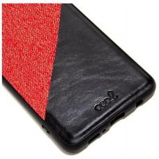 Carcasa COOL para Huawei Honor View 20 Bicolor Rojo