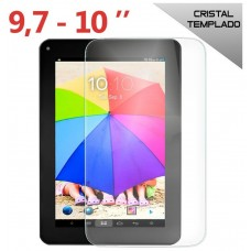 Protector Pantalla Cristal Templado COOL Universal Rectangular Tablet 9.7 - 10.2 pulg (236 x 163 mm)
