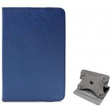Funda COOL Ebook / Tablet 7 pulg Polipiel Azul Giratoria