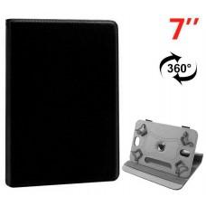 Funda COOL Ebook / Tablet 7 pulg Polipiel Negro Giratoria