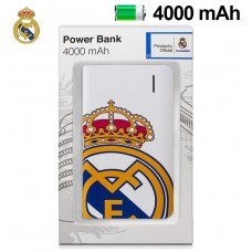 Bateria Externa Micro-usb Power Bank 4000 mAh Licencia Fútbol Real Madrid C.F.