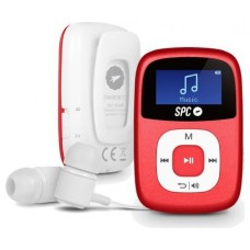 SPC Reproductor MP3 Clip 8644A 4GB Rojo