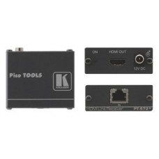 Kramer Electronics PT-572+ extensor audio/video Receptor AV Negro