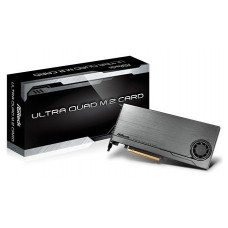 Asrock Ultra Quad M.2 Card Interno M.2 tarjeta y adaptador de interfaz