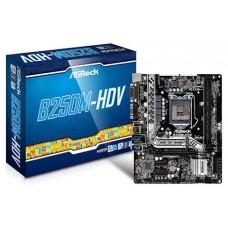 Asrock B250M-HDV Intel B250 LGA 1151 (Socket H4) Micro ATX placa base