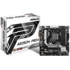 Asrock AB350M Pro4 AMD B350 Socket AM4 Micro ATX placa base