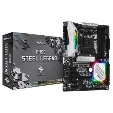 Asrock B450 Steel Legend Zócalo AM4 ATX AMD B450