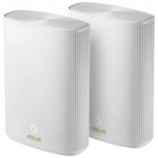 ASUS ZenWiFi AX Hybrid (XP4) Doble banda (2,4 GHz / 5 GHz) Wi-Fi 6 (802.11ax) Blanco 2 Interno
