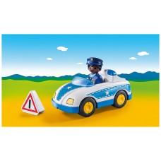 Playmobil 1.2.3 coche policia