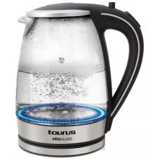 HERVIDOR DE AGUA TAURUS AROA GLASS 2200W 1.8L