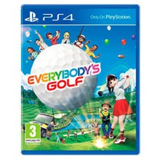 JUEGO SONY PS4 EVERYBODY S GOLF