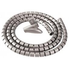 ORGANIZADOR CABLES ZIP 2M PLATA FELLOWES 9929801