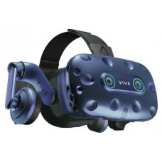 HTC VIVE Pro Eye Pantalla con montura para sujetar en la cabeza Negro, Azul