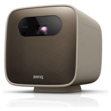 Benq GS2 videoproyector Proyector portátil 500 lúmenes ANSI DLP 1080p (1920x1080) Marrón, Gris