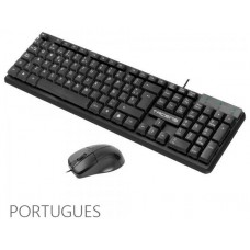 ANIMA ACP0 2IN1 COMBO PACK, 1200 DPI HUANO MECHANICAL SWITCHES MOUSE, MEMBRANE KEYBOARD, ECOLOGIC DESIGN, USB, PORTUGUESE LAYOUT