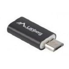 ADAPTADOR LANBERG USB 2.0 TIPO-C F-MICRO-B MACHO NEGRO