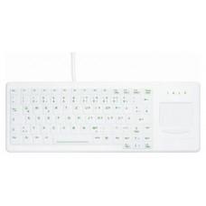 Active Key Teclado Lava-Des touchpad-retroil Blanc