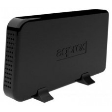 """approx appHDD07B Caja Ext.3.5"""" USB 2.0 SATA Negra"""