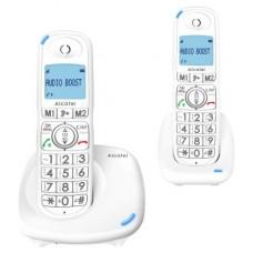 Alcatel XL575 Duo Teléfono DECT/analógico Blanco Identificador de llamadas