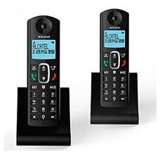 Alcatel F685 DUO Teléfono DECT Negro