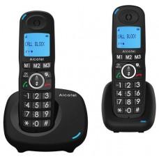 Alcatel XL535 DUO Identificador de llamadas Negro