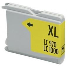 CARTUCHO COMP. BROTHER LC1000XL/LC970XL AMARILLO 26.6